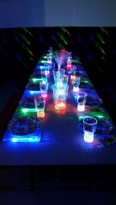 Glowing Birthday Party