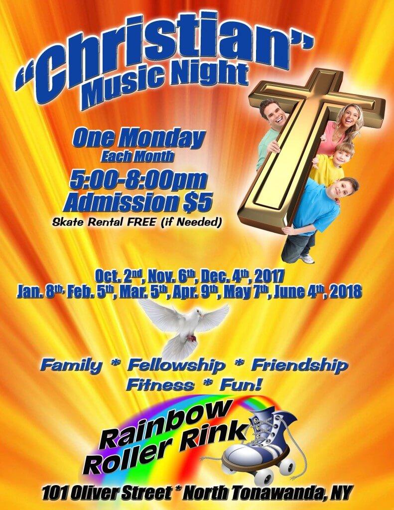 Christian Music Night 2017 - Rainbow Roller Rink