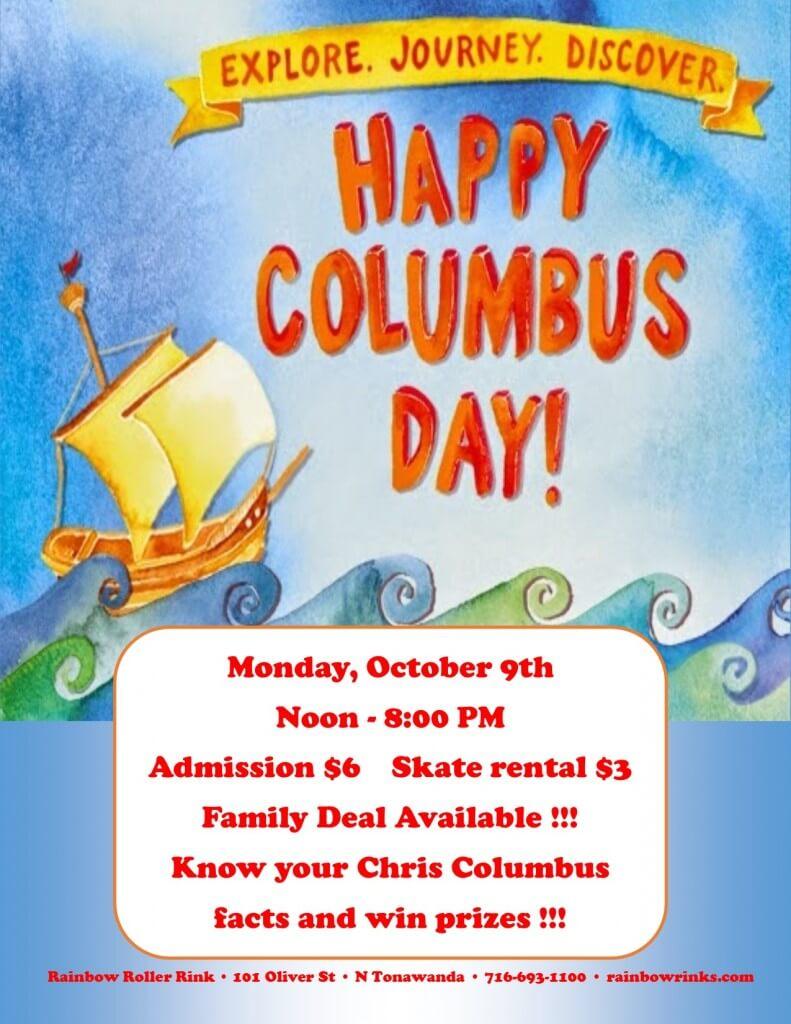 Columbus Day Skate