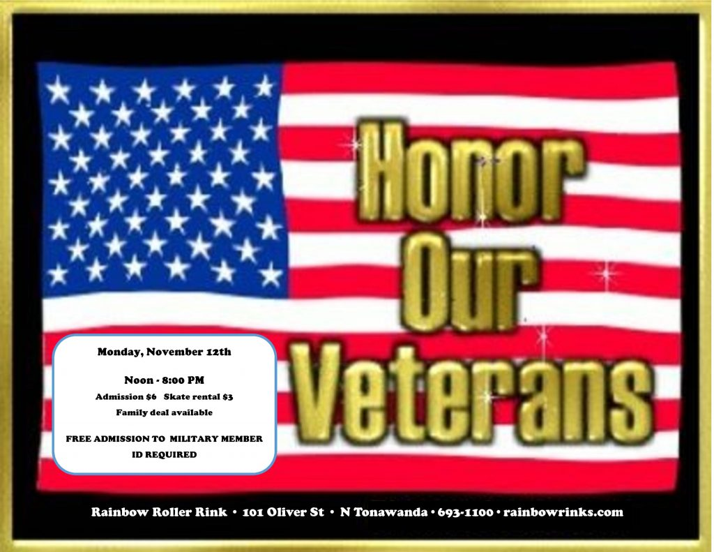 VETERANS DAY – rink