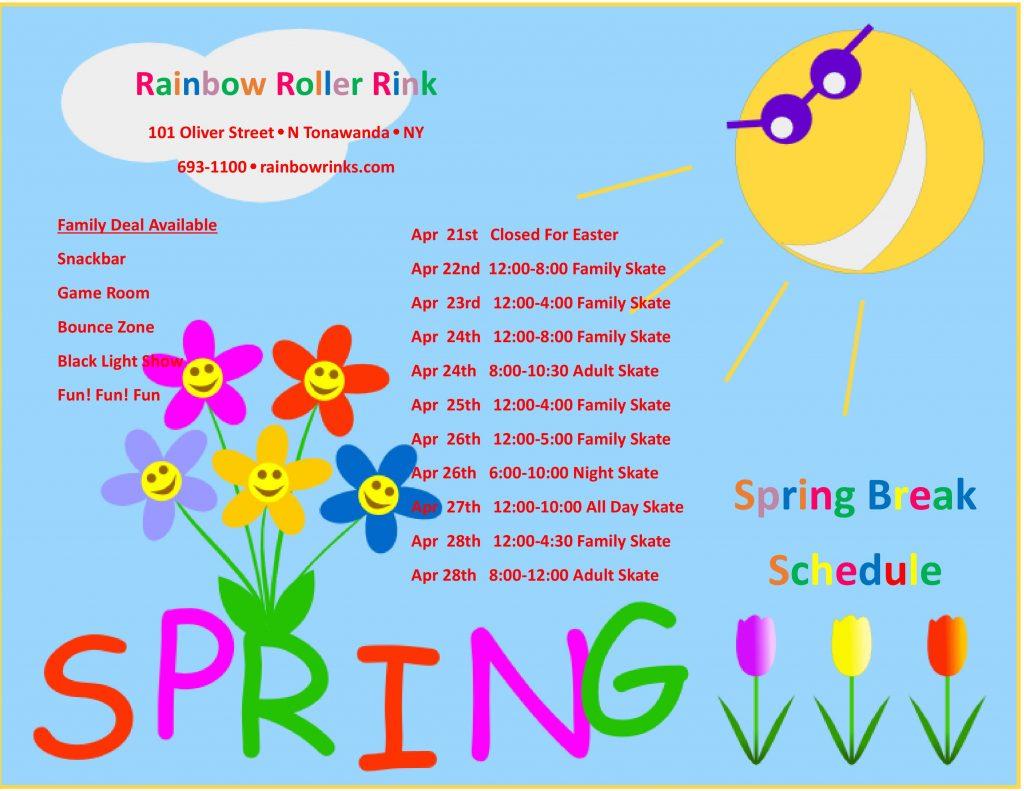 spring break-rink