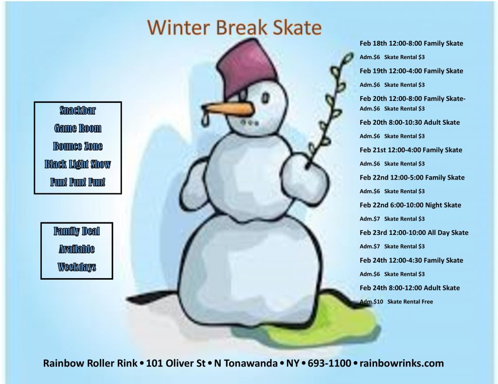 winter break skate – rink